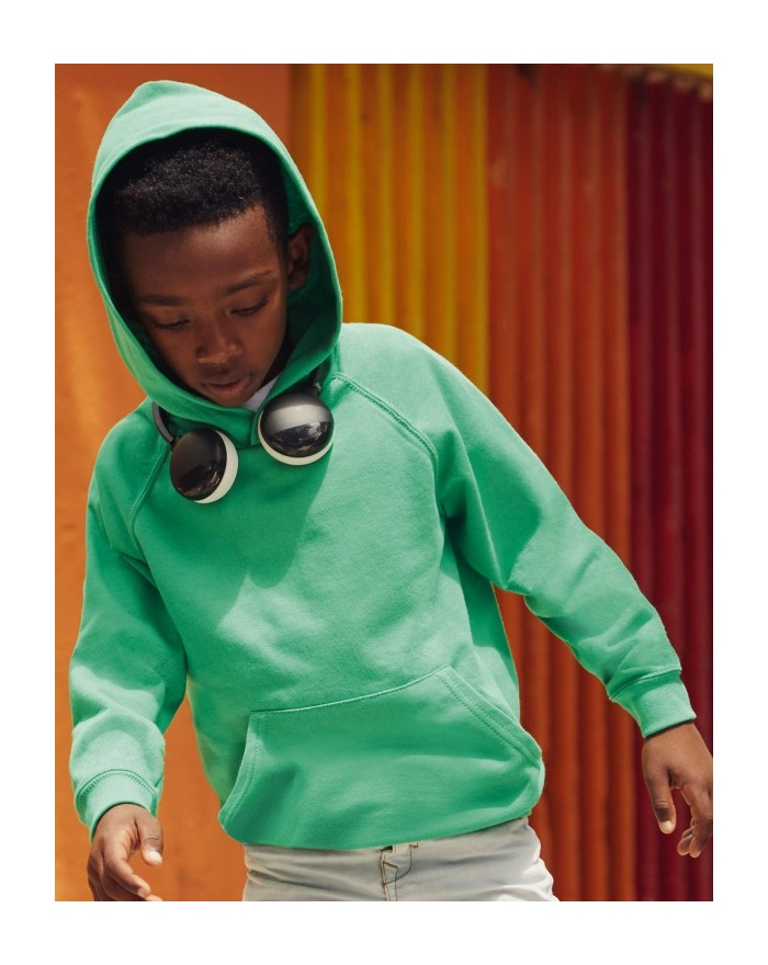 Sweat à Capuche Enfant Lightweight - Vêtements Enfant Personnalisés avec marquage broderie, flocage ou impression