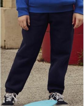 PANTALON DE JOGGING BAS ÉLASTIQUÉ JUNIOR PREMIUM - Vêtements Enfant Personnalisés avec marquage broderie, flocage ou impressi...