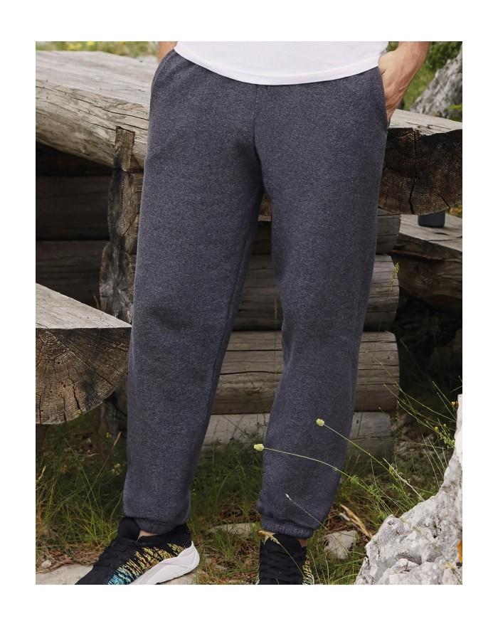 PANTALON DE JOGGING BAS ÉLASTIQUÉ - Vêtements de Sport Personnalisés avec marquage broderie, flocage ou impression. Grossiste...