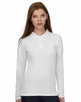 Polo Femme ID.001 LSL - Polo Personnalisé avec marquage broderie, flocage ou impression. Grossiste vetements vierge à personn...