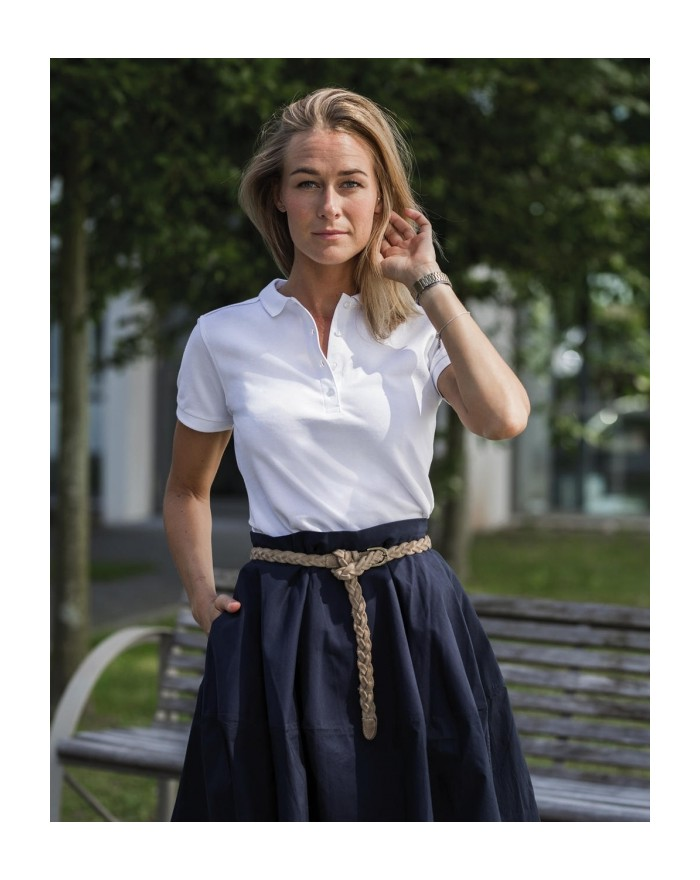 Polo Femme Fit Stretch - Polo Personnalisé avec marquage broderie, flocage ou impression. Grossiste vetements vierge à person...