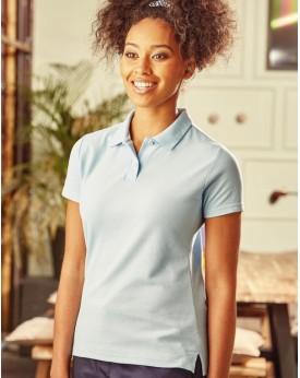 Femme Polo Poly-Coton Blend Polos