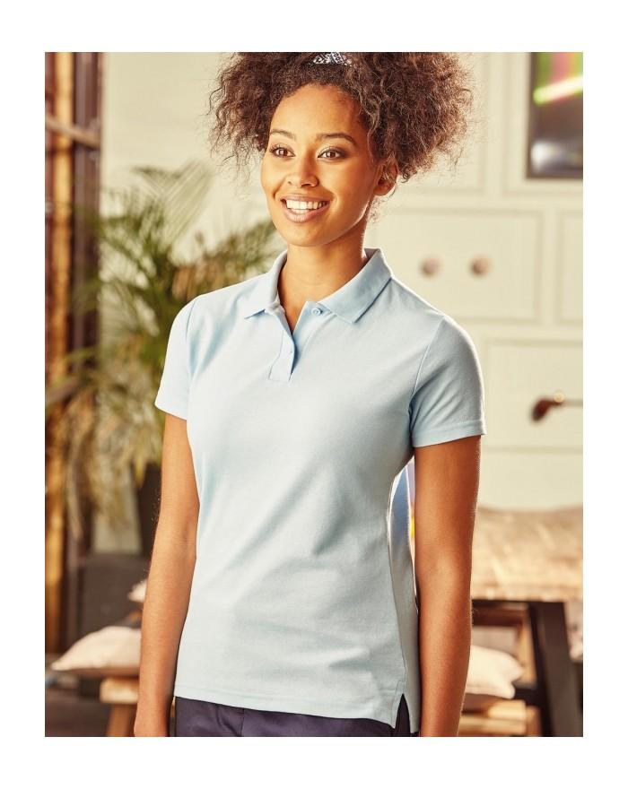 Polo Femme Poly-Coton Blend - Polo Personnalisé avec marquage broderie, flocage ou impression. Grossiste vetements vierge à p...