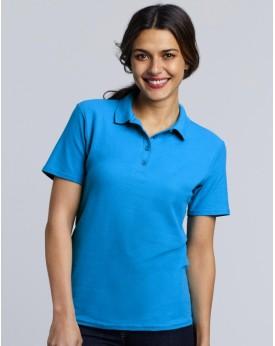 Polo Femme Jersey semi-peigné - Polo Personnalisé avec marquage broderie, flocage ou impression. Grossiste vetements vierge à...