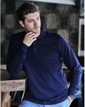 Luxury LS Stretch Polo Polos