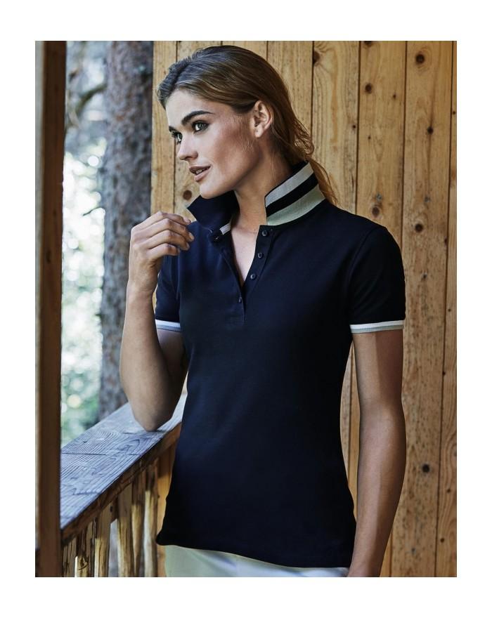 Polo Femme Club - Polo Personnalisé avec marquage broderie, flocage ou impression. Grossiste vetements vierge à personnalisable
