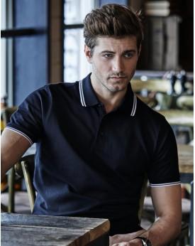 Polo Luxury À Bandes Stretch - Polo Personnalisé avec marquage broderie, flocage ou impression. Grossiste vetements vierge à ...