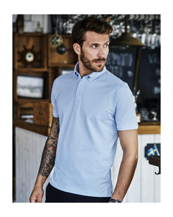 Polo Fashion Luxury Stretch - Polo Personnalisé avec marquage broderie, flocage ou impression. Grossiste vetements vierge à p...