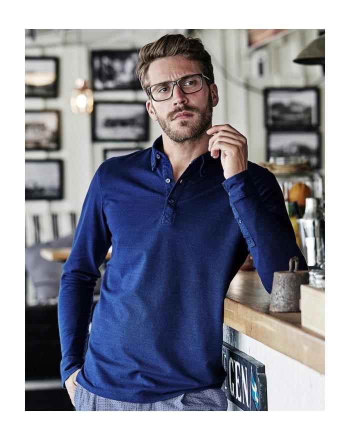 Polo Fashion LS Luxury Stretch - Polo Personnalisé avec marquage broderie, flocage ou impression. Grossiste vetements vierge ...