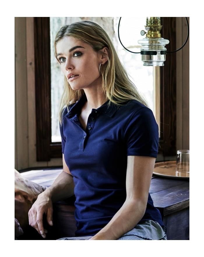 Polo Femme COton Lourd Maille Piqué - Polo Personnalisé avec marquage broderie, flocage ou impression. Grossiste vetements vi...