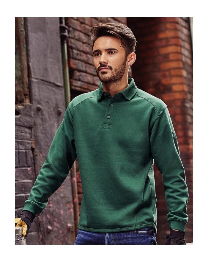 Heavy Duty Collar Sweatshirt - Vêtement de travail Personnalisé avec marquage broderie, flocage ou impression. Grossiste vete...