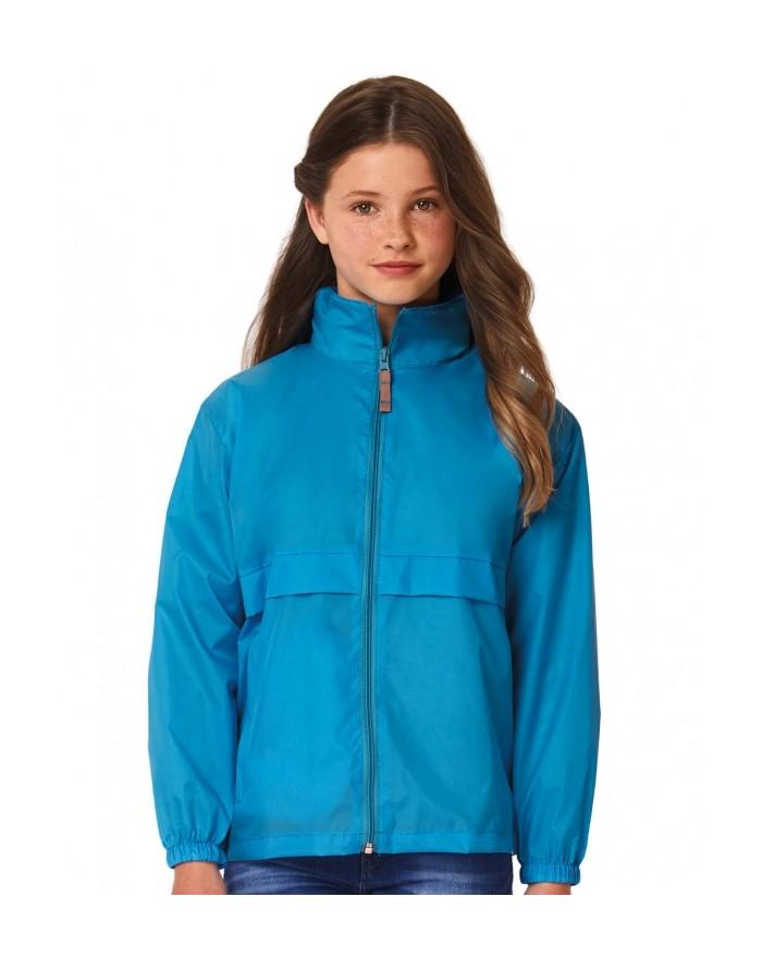Veste Coupe Vent Enfant Sirocco - Vêtements Enfant Personnalisés avec marquage broderie, flocage ou impression. Grossiste vet...