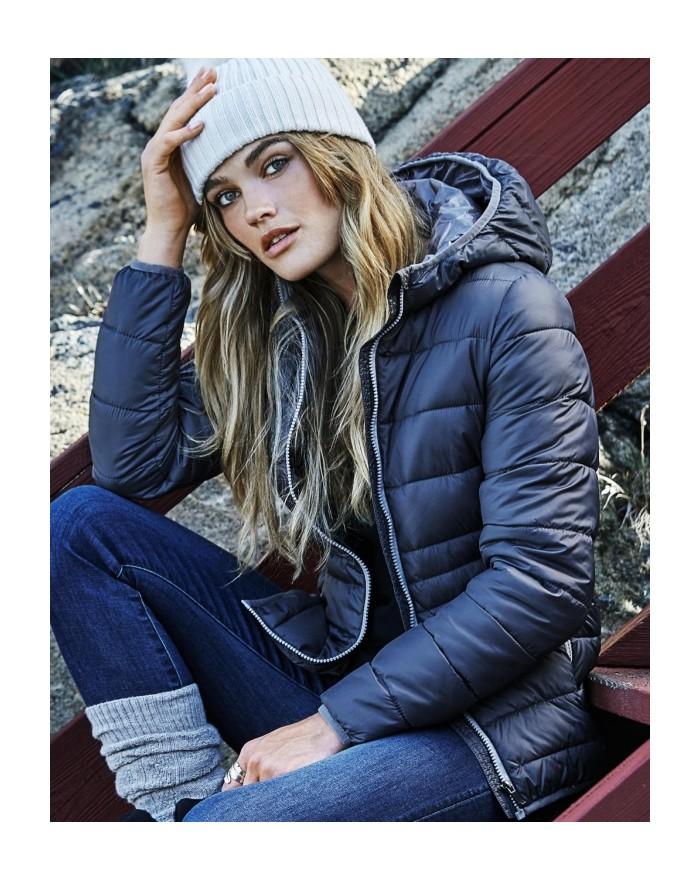 Veste Femme à Capuche Zepelin résiste au vent, water repellant  - Veste Personnalisée avec marquage broderie, flocage ou impr...