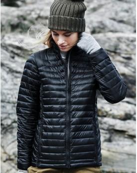 Veste Femme Vancouver Down rembourrage 90% duvet, 10% plumes water repellent et respirant - Veste Personnalisée avec marquage...