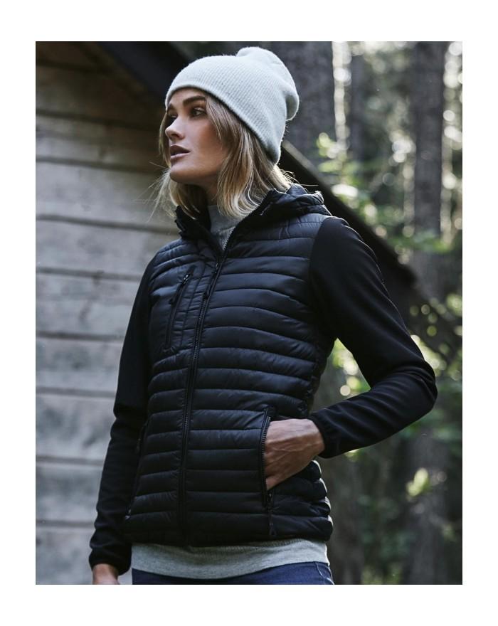 Veste à Capuche femme Crossover hydrofuge et respirante - Veste Personnalisée avec marquage broderie, flocage ou impression. ...