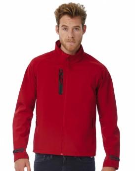 Veste Softshell/Homme X-Lite respirante et matériau softshell imperméable 3 couches - Veste Softshell Personnalisée avec marq...
