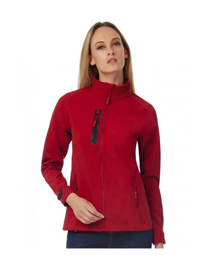 Veste Softshell/Femme X-Lite respirante et matériau softshell imperméable 3 couches - Veste Softshell Personnalisée avec marq...