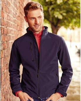 Veste Softshell 3 couches respirant, coupe-vent, waterproof - Veste Softshell Personnalisée avec marquage broderie, flocage o...