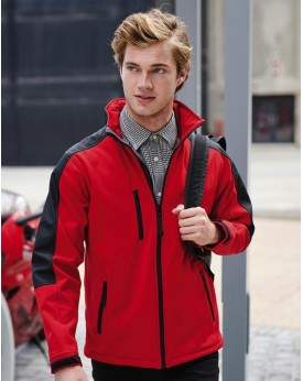 Hydroforce 3-Couches Membrane Softshell - Veste Softshell Personnalisée avec marquage broderie, flocage ou impression. Grossi...