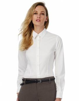 Black Tie LSL/Femme Poplin Chemise Chemises & vêtements d'entreprise