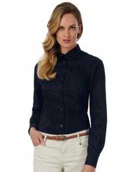 Sharp LSL/Femme Twill Chemise Chemises & vêtements d'entreprise