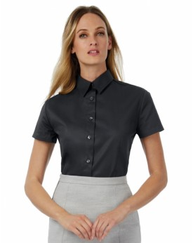 Sharp SSL/Femme Twill Chemise Chemises & vêtements d'entreprise