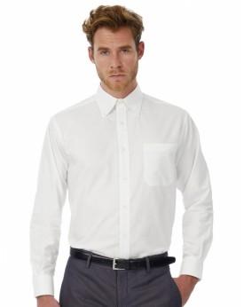 Oxford LSL/Homme Chemise Chemises & vêtements d'entreprise