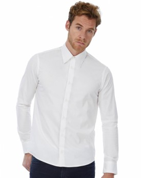 London Stretch Chemise LS Chemises & vêtements d'entreprise