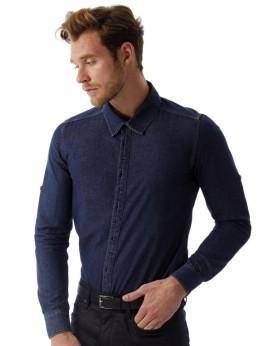 DNM Vision/Homme Denim Chemise LS Chemises & vêtements d'entreprise