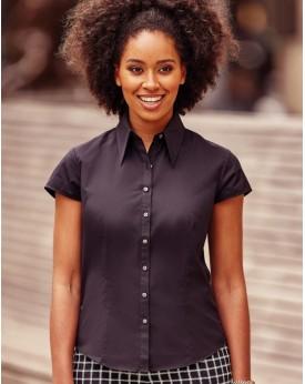 Chemise Femme Tencel Fit - Chemise d'entreprise Personnalisée avec marquage broderie, flocage ou impression. Grossiste veteme...