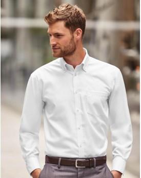 Chemise homme manches longues Ultimate sans repassage - Chemise d'entreprise Personnalisée avec marquage broderie, flocage ou...