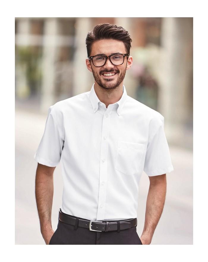 Chemise homme Ultimate sans repassage - Chemise d'entreprise Personnalisée avec marquage broderie, flocage ou impression. Gro...