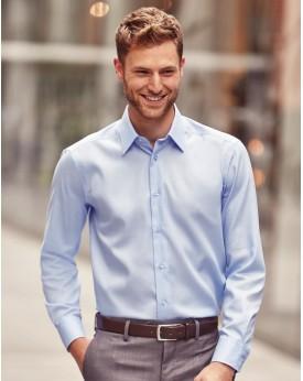 Chemise Tailored Ultimate sans repassage LS - Chemise d'entreprise Personnalisée avec marquage broderie, flocage ou impressio...