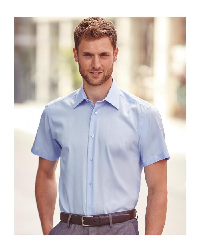 Chemise Tailored Ultimate sans repassage - Chemise d'entreprise Personnalisée avec marquage broderie, flocage ou impression. ...