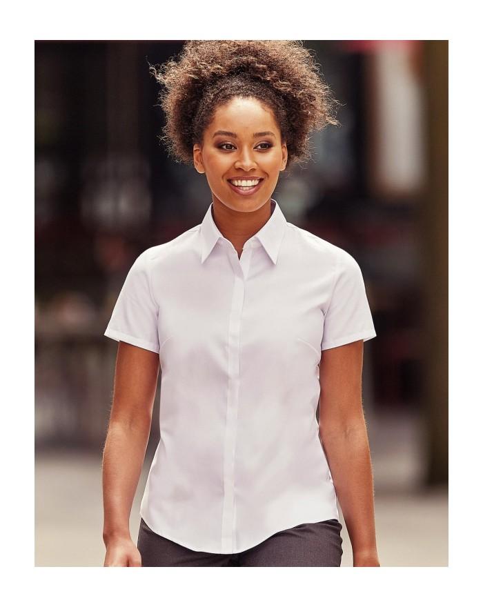 Chemise Femme Ultimate Stretch - Chemise d'entreprise Personnalisée avec marquage broderie, flocage ou impression. Grossiste ...