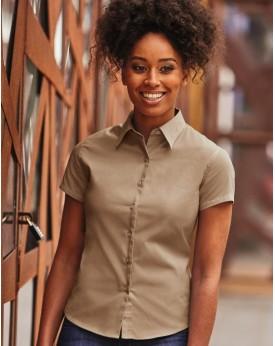 Chemise Femme Classic Twill - Chemise d'entreprise Personnalisée avec marquage broderie, flocage ou impression. Grossiste vet...