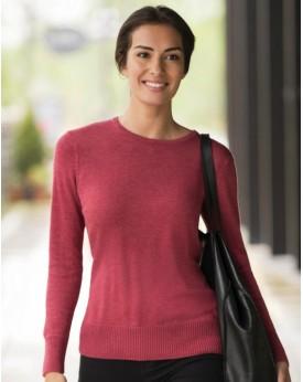 Femme Ras de Cou En Tricot Pullover Chemises & vêtements d'entreprise