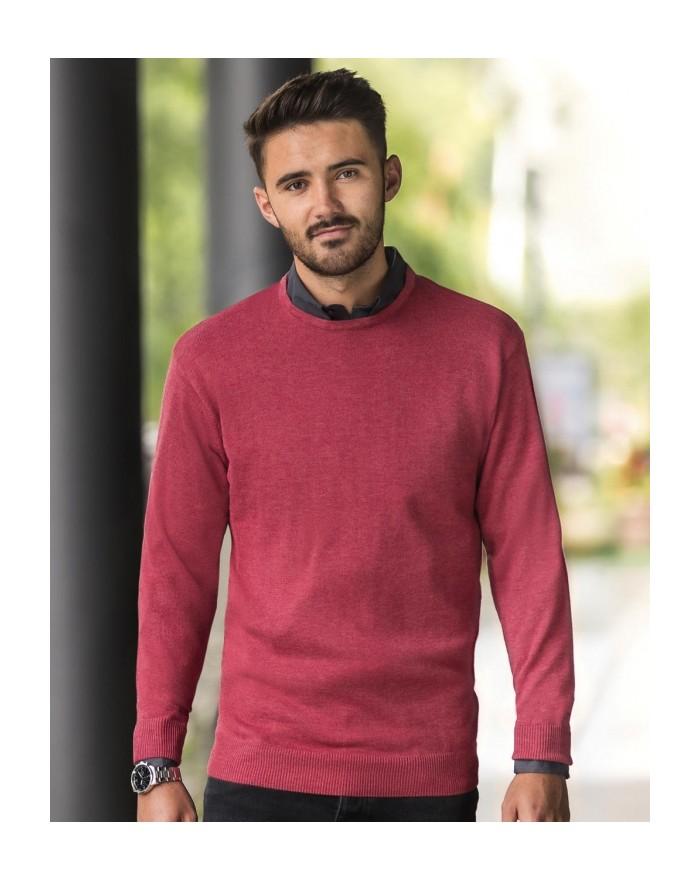 Sweater Homme Ras de Cou En Tricot Pullover - Chemise d'entreprise Personnalisée avec marquage broderie, flocage ou impressio...