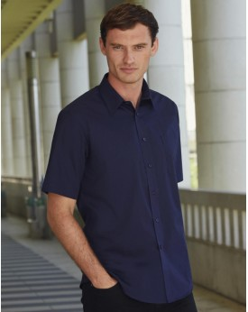 Chemise Poplin Manches Courtes Chemises & vêtements d'entreprise