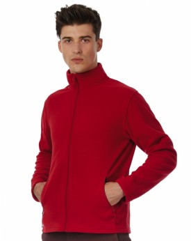 Polaire Homme ID.501 Micropolaire Full Zip - Veste Polaire Personnalisée avec marquage broderie, flocage ou impression. Gross...