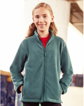 Enfant Full Zip Outdoor Polaire  Enfants