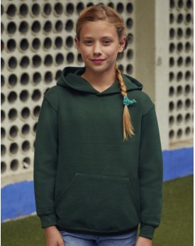 Sweat à Capuche Enfant Classique - Vêtements Enfant Personnalisés avec marquage broderie, flocage ou impression. Grossiste ve...