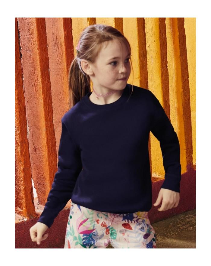 Sweat Enfant Premium Set-In - Vêtements Enfant Personnalisés avec marquage broderie, flocage ou impression. Grossiste vetemen...