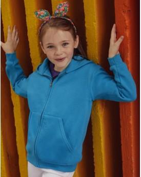Sweat Veste Enfant à Capuche Classique zip - Vêtements Enfant Personnalisés avec marquage broderie, flocage ou impression. Gr...