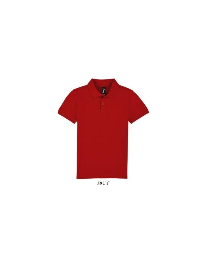 Polo Enfant PERFECT LSL - Vêtements Enfant Personnalisés avec marquage broderie, flocage ou impression. Grossiste vetements v...