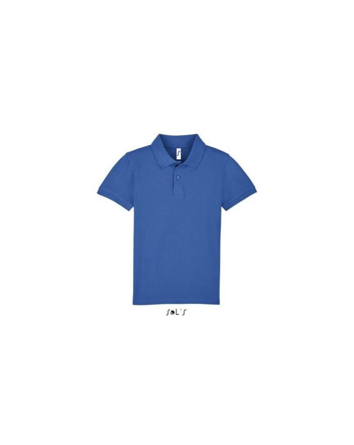 Polo Enfant PERFECT LSL - Vêtements Enfant Personnalisés avec marquage broderie, flocage ou impression