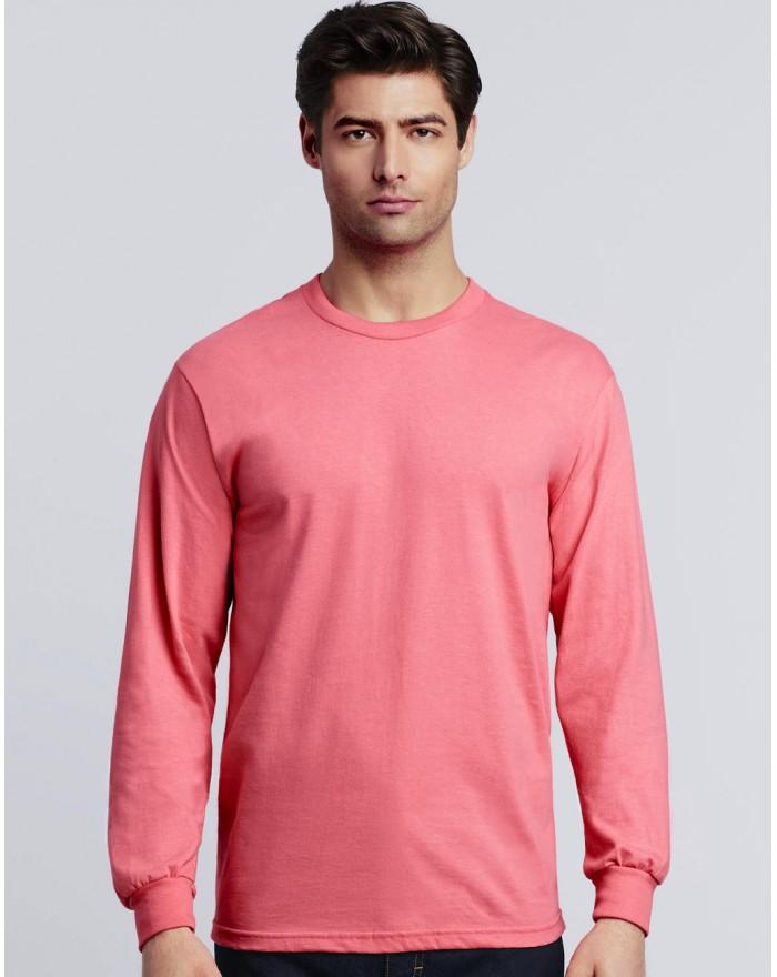 T-Shirt Hammer Adulte manches longues - Tee-shirt Personnalisé avec marquage broderie, flocage ou impression. Grossiste vetem...