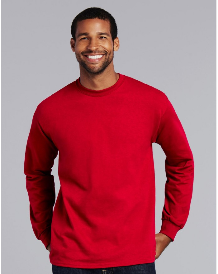T-Shirt Ultra Coton Adulte Manches Longues - Tee-shirt Personnalisé avec marquage broderie, flocage ou impression. Grossiste ...