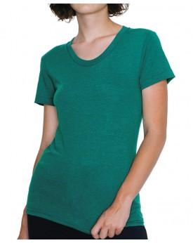 T-Shirt Femme Tri-Blend Ras de Cou - Tee-shirt Personnalisé avec marquage broderie, flocage ou impression. Grossiste vetement...