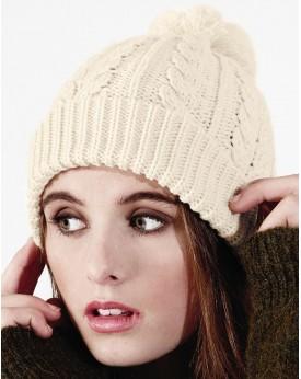 Snowstar Bonnet mit Zopfmuster Casquettes & Accessoires